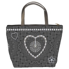 Charcoal Diamond Mom Bucket Bag By Lil    Bucket Bag   U4pjgr9qcfnp   Www Artscow Com Back