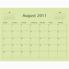 Calendar Wills 2010 By Christy Wills   Wall Calendar 11  X 8 5  (12 Months)   Dmowbozplmq1   Www Artscow Com Aug 2011