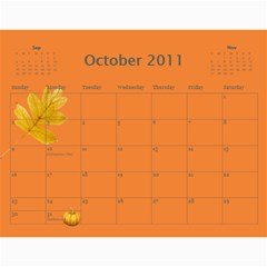 Calendar Wills 2010 By Christy Wills   Wall Calendar 11  X 8 5  (12 Months)   Dmowbozplmq1   Www Artscow Com Oct 2011