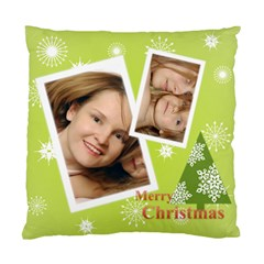 Xmas By Wood Johnson   Standard Cushion Case (two Sides)   Agul390yvzg5   Www Artscow Com Front