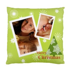 Xmas By Wood Johnson   Standard Cushion Case (two Sides)   Agul390yvzg5   Www Artscow Com Back