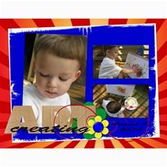 Carolyns 2011 Calendar By Kelly   Wall Calendar 11  X 8 5  (12 Months)   N0v0w9m3ww8z   Www Artscow Com Month