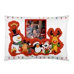 Cute Christmas Fairy Lights pillow case