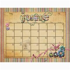 Calendar 2011 By Marina Tang   Wall Calendar 11  X 8 5  (12 Months)   Gkar511tmkjr   Www Artscow Com Jun 2011