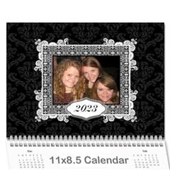 Elegant 2015 12 Month Calendar By Klh   Wall Calendar 11  X 8 5  (12 Months)   Gywcelu0z0kn   Www Artscow Com Cover