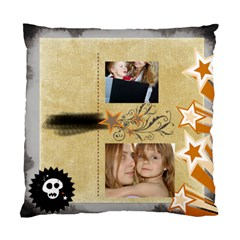 Happy Kids By Wood Johnson   Standard Cushion Case (two Sides)   5nzlk44apai3   Www Artscow Com Front