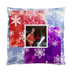 Winter Wonderland Snowflake Cushion 2 By Catvinnat   Standard Cushion Case (two Sides)   Mjfzmoexa4fr   Www Artscow Com Back