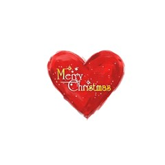 Christmas Basics Floral Heart Christmas Card 2 By Catvinnat   Greeting Card 5  X 7    Htu5tpozqpid   Www Artscow Com Back Cover