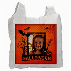 Halloween By Joely   Recycle Bag (two Side)   76u2dihu1bx4   Www Artscow Com Front