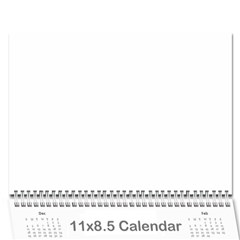 Calander By Janelle   Wall Calendar 11  X 8 5  (12 Months)   Gftg8eg9dioo   Www Artscow Com Cover