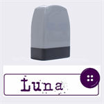 LUNA - Rubber stamp - Name Stamp