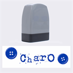 Charo - Rubber stamp - Name Stamp