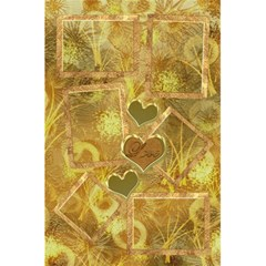 I Heart You Moon Gold Interior Love Personal Notebook By Ellan   5 5  X 8 5  Notebook   Vo55h2gwc3nd   Www Artscow Com Front Cover Inside