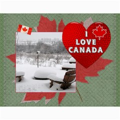 Canada 12 Month 2015 Calendar By Lil    Wall Calendar 11  X 8 5  (12 Months)   Acvcw0mcqb42   Www Artscow Com Month