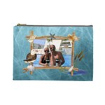 By The Sea Large Cosmetic Bag - Cosmetic Bag (Large)