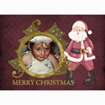 Christmas 7x5 lil1 - 5  x 7  Photo Cards