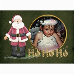 Ho Ho Ho 7x5 Lil By Lillyskite   5  X 7  Photo Cards   Lz3hwna4l467   Www Artscow Com 7 x5 Photo Card - 5