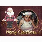 Christmas2 7x5-lil - 5  x 7  Photo Cards