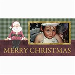 Christmas 8x4 - lil1 - 4  x 8  Photo Cards