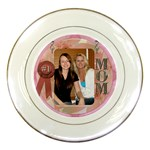 #1 Mom Plate - Porcelain Plate