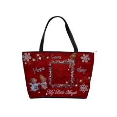 My Little Angels  Classic Shoulder Bag 2 Sides  By Ellan   Classic Shoulder Handbag   X74jet6pue1y   Www Artscow Com Front