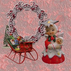 Vintage Christmas Mix Match Magic Cube #2 By Ellan   Magic Photo Cube   2q2efxj21y4b   Www Artscow Com Side 6
