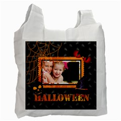 Halloween By Joely   Recycle Bag (two Side)   Ehinpc3anc55   Www Artscow Com Front