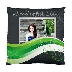 Wonderful By Joely   Standard Cushion Case (two Sides)   Rccolraohfg5   Www Artscow Com Front