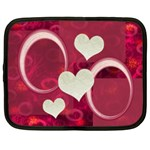 I Heart You 22 pink extra large netbook case - Netbook Case (XXL)