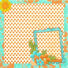 Scrapdzines  20 Summer Days Srapbook Pages! By Denise Zavagno 12 x12  Scrapbook Page - 3