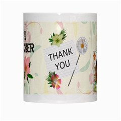 #1 Teacher Mug By Lil    White Mug   Anaztm5wrhvs   Www Artscow Com Center