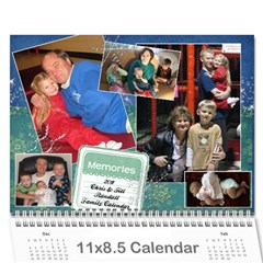 Randall Family 2011 Calendar By Julie   Wall Calendar 11  X 8 5  (12 Months)   Whymfp5oz5hu   Www Artscow Com Cover