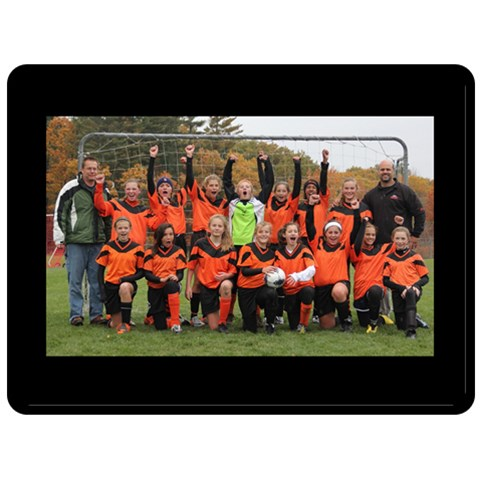 Team By Kathi   Fleece Blanket (large)   Mr7b3sjgqn2j   Www Artscow Com 80 x60 Blanket Front