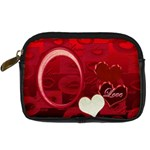 I Heart You love 10 leather camera case - Digital Camera Leather Case