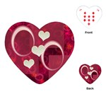 Pink Love heart Playing Cards - Playing Cards (Heart)