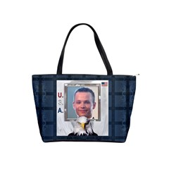 U S A Shoulder Handbag By Lil    Classic Shoulder Handbag   Sj7fe4fcvr0k   Www Artscow Com Front