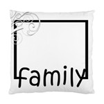 Family Pillow - Standard Cushion Case (One Side)