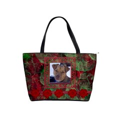 New Year Shoulder Bag1 By Joan T   Classic Shoulder Handbag   L1eix1zdqisn   Www Artscow Com Front