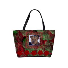 New Year Shoulder Bag1 By Joan T   Classic Shoulder Handbag   L1eix1zdqisn   Www Artscow Com Back
