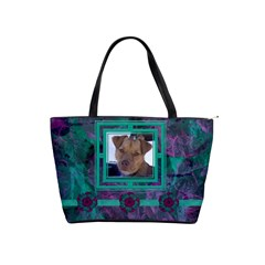 New Year Shoulder Bag2 By Joan T   Classic Shoulder Handbag   Mznupsyrfbhd   Www Artscow Com Front