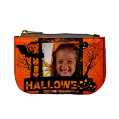 Halloween By Joely   Mini Coin Purse   Xii2luwrnevq   Www Artscow Com Front