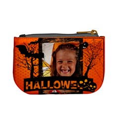 Halloween By Joely   Mini Coin Purse   Xii2luwrnevq   Www Artscow Com Back