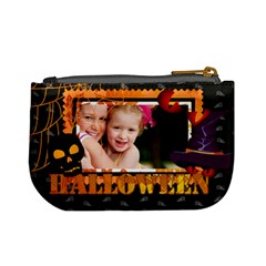 Halloween By Joely   Mini Coin Purse   Lkf8eonvnnsz   Www Artscow Com Back