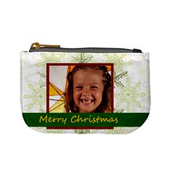 Xmas By Joely   Mini Coin Purse   Wa9hy1r1supn   Www Artscow Com Front