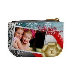 Xmas By Joely   Mini Coin Purse   Vqiu99nx5dfr   Www Artscow Com Back