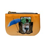 Rain ORANGE - Mini coin purse