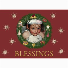 Blessings By Lillyskite   5  X 7  Photo Cards   Alghzsbzqc88   Www Artscow Com 7 x5 Photo Card - 5