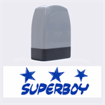 superboy - Rubber stamp - Name Stamp