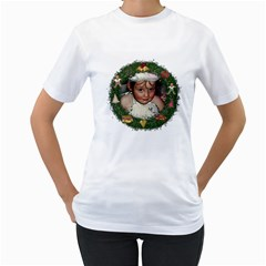 Christmas Shirt By Lillyskite   Women s T Shirt (white) (two Sided)   Qicdnk2by2o0   Www Artscow Com Front