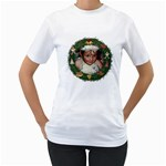 Christmas Shirt - Women s T-Shirt (White) (Two Sided)